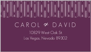 Hanging white willow address label 1027 1 big
