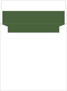 Rustic Woodland Antlers Envelope Liner