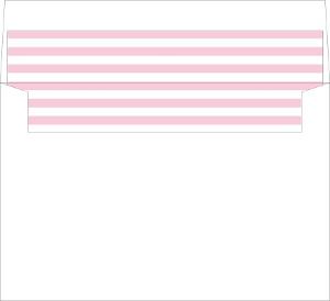 Bright Blossoms Envelope Liner