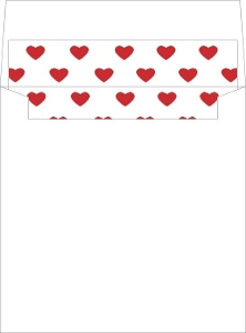 Love Is In The Air Envelope Liner