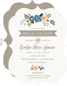 Springtime Floral Bridal Shower Invitation