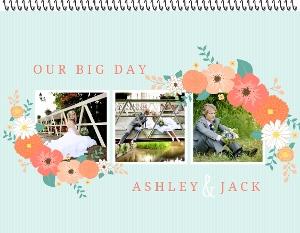 Floral Garden Bouquet Photo Wall Calendar