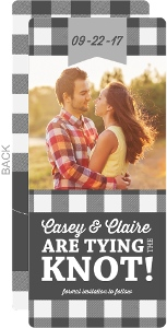 Country Tying the Knot Save the Date Announcement