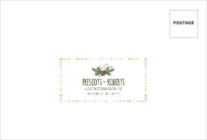 Woodland Rustic Frame Mailing Address Envelope