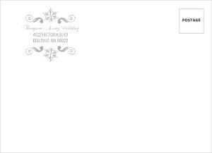 Enchanted Winter Wonderland Custom Envelope