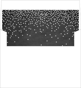 Rustic Winter Snow Envelope Liner
