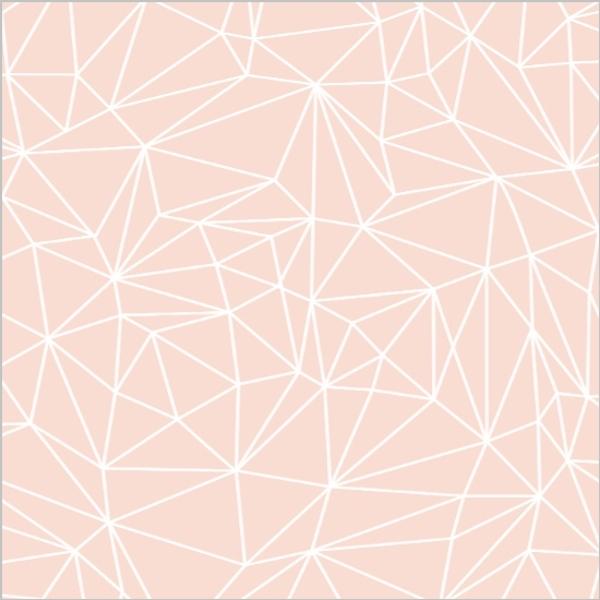 Geometric Glitter Heart Wedding Invitation