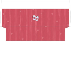 Rustic Love Jar Custom Envelope Liner