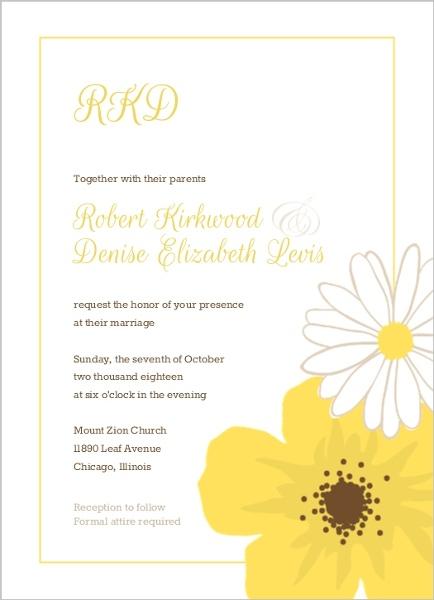 Classic Nude Lace Wedding Invitation