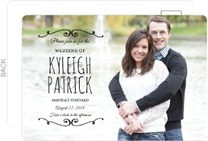 postcard wedding invitations - Postcard Wedding Invitations