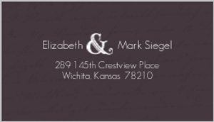 Plum sage address label 483 1 big