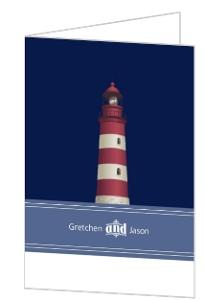 Cape Cod Lighthouse Thank You Card