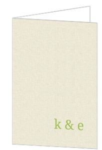 Cream and Green Rustic Tree Thank You Card