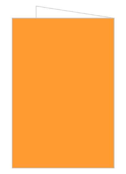 Orange And Black Elegant Halloween Wedding Invitation