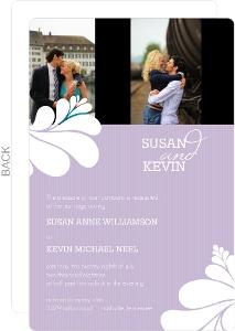 Big and Bold Love Wedding Invitation