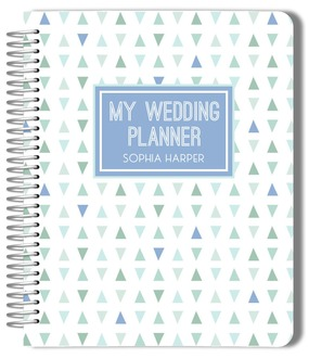 Deep Sea Beach Glass Pattern Wedding Journal
