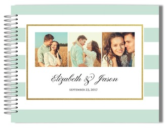 Photo Collage Wedding Guestbook