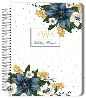 Beautiful Blue Floral Decor Wedding Planner