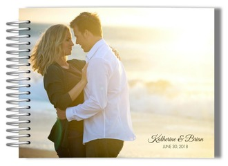 Photo Cover Wedding Guestbook