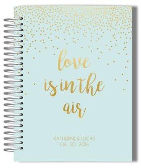 Confetti Love Wedding Journal