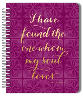 Whom My Soul Loves Wedding Journal