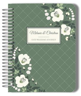 Greenery Floral Wedding Journal