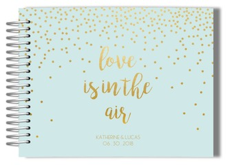 Love Is In The Air Wedding Guest Book