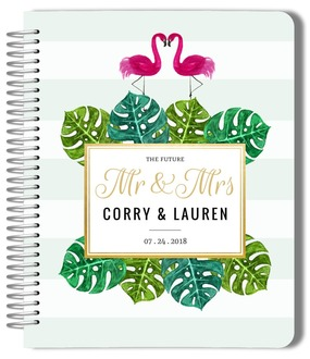 Tropical Flamingo Love Wedding Planner