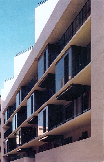48 logements rue Cauchy, Paris XVème