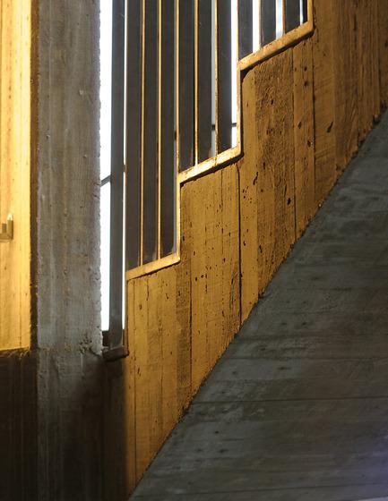 escalier doré