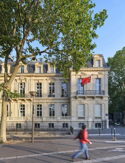 façade quai d'orsay 1