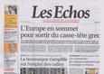 Les Echos, Jeudi 11 février 2010