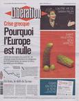 Libération, Jeudi 10 février 2010