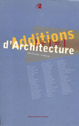 Additions d'Architectures. Philippe Simon. Ed.du Pavillon de l'Arsenal. 1996