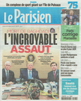 Le Parisien octobre 2019/geste d'or