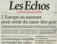 LES ECHOS, 19 sept.2006