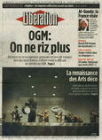 LIBERATION, 15 septembre 2006