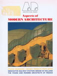 ARCHIRECTURAL DESIGN, n°90. Aspect of Modern Architecture in France
