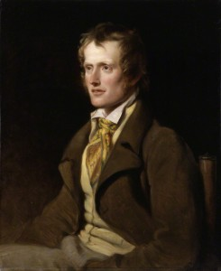 John Clare by William Hilton, oil on canvas, 1820