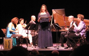 soprano sings Pope cantata
