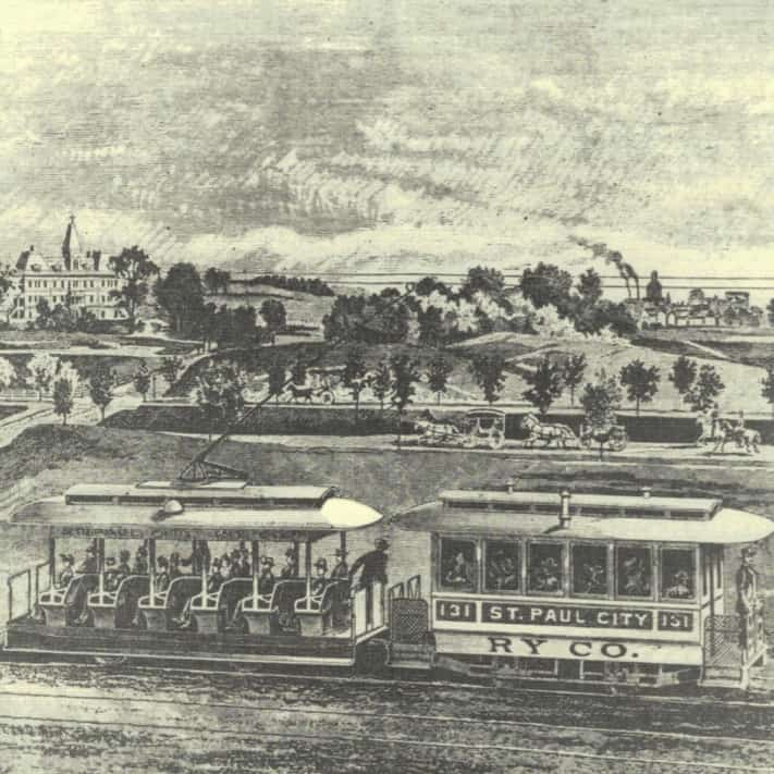 picture of a trolley