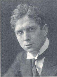 photo of Herbert Howells in tux
