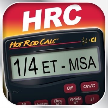 Hot Rod Calc -- Elapsed Time Prediction and Performance Calculator for Bracket Racers, Hot Rod and Engine Builders and Bench Racers