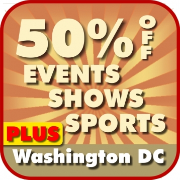 50% Off Washington DC, Arlington, Alexandria, and Bethesda Shows & Sports Guide Plus by Wonderiffic ™
