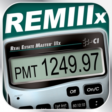 Real Estate Master IIIx -- Simple to Use Residential Real Estate Finance Calculator for Agents, Brokers, Attorneys, Loan Officers and other Mortgage Industry Professionals