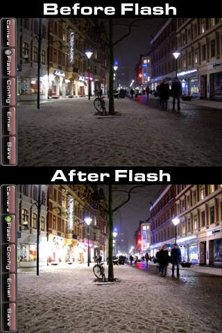 1 Click Photo - Capture, Flash, and Save