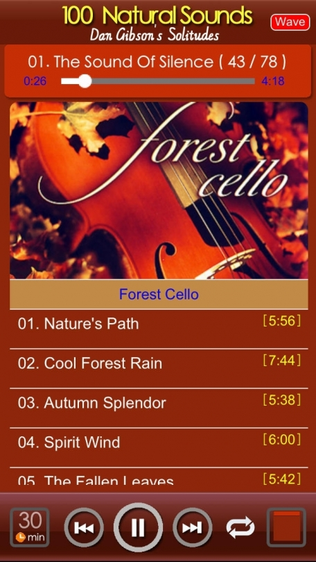 [10 CD]100 Natural Music for relaxation