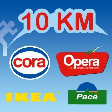 10 Km CORA OPERA IKEA de Pacé