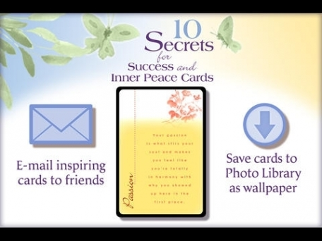 10 Secrets for Success and Inner Peace Cards - Dr. Wayne W. Dyer