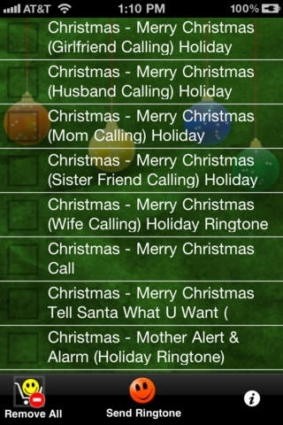 100 Christmas Ringtones